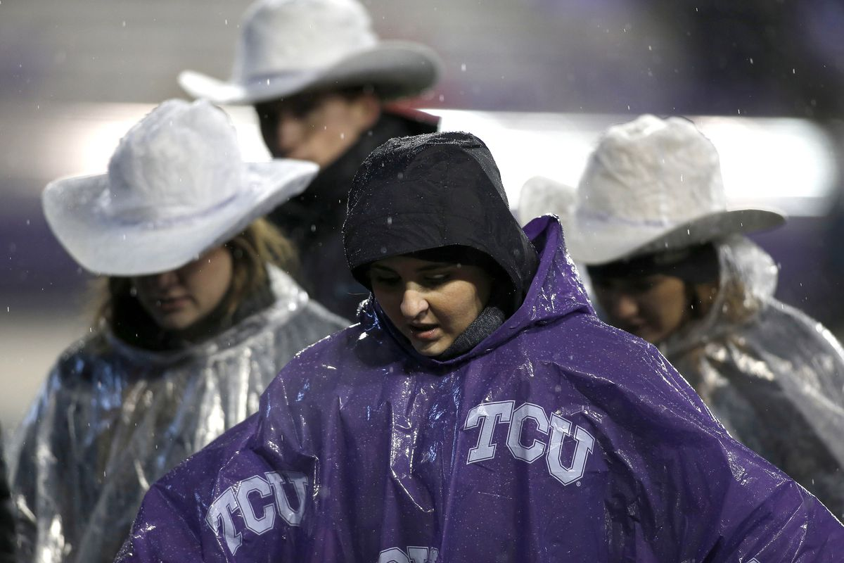 TCU tops Central Connecticut 9-6 in delayed regional opener