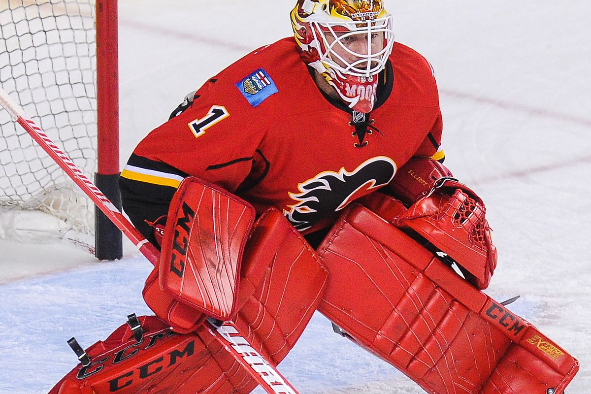 Elliott has been on fire for the Flames