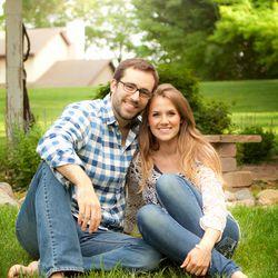 Emily Jones-Sanchez is photographed with her current husband, Donovan Sanchez.