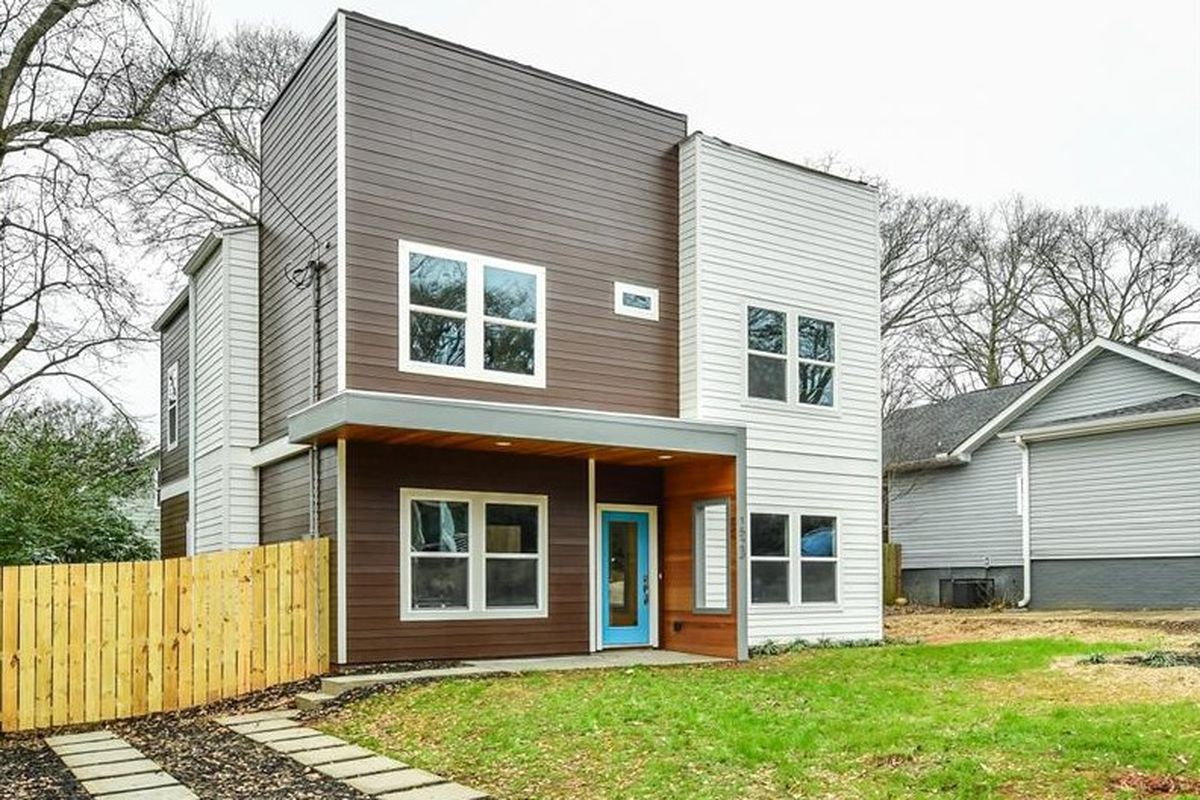 A photo of a modern home for sale in East Atlanta right now.