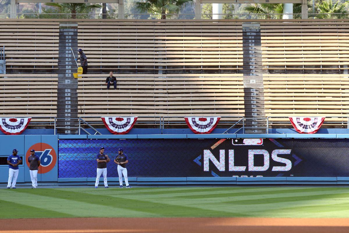 2019 NLDS Game 2 - Washington Nationals v. Los Angeles Dodgers