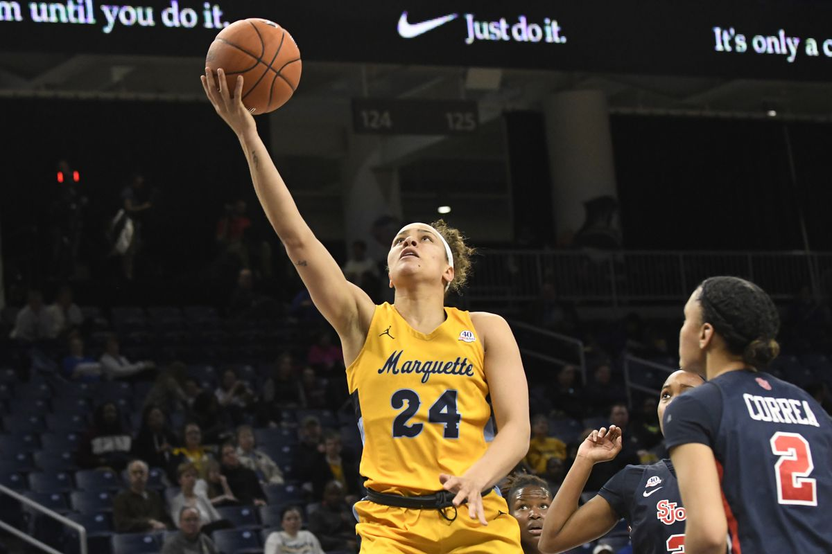 NCAA Womens Basketball: Big East Conference Tournament-Marquette vs St. John's