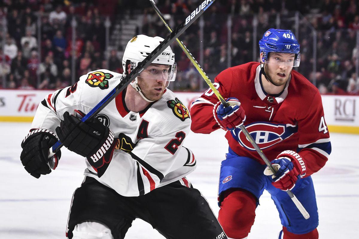 Chicago Blackhawks v Montreal Canadiens