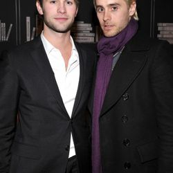2011: At a Bvlgari event. To be fair, he's standing next to Chace Crawford. <em>Anyone</em> would look less hot in comparison.