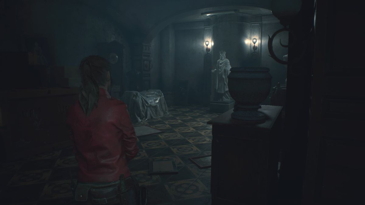 Resident Evil 2 Statue puzzle solution