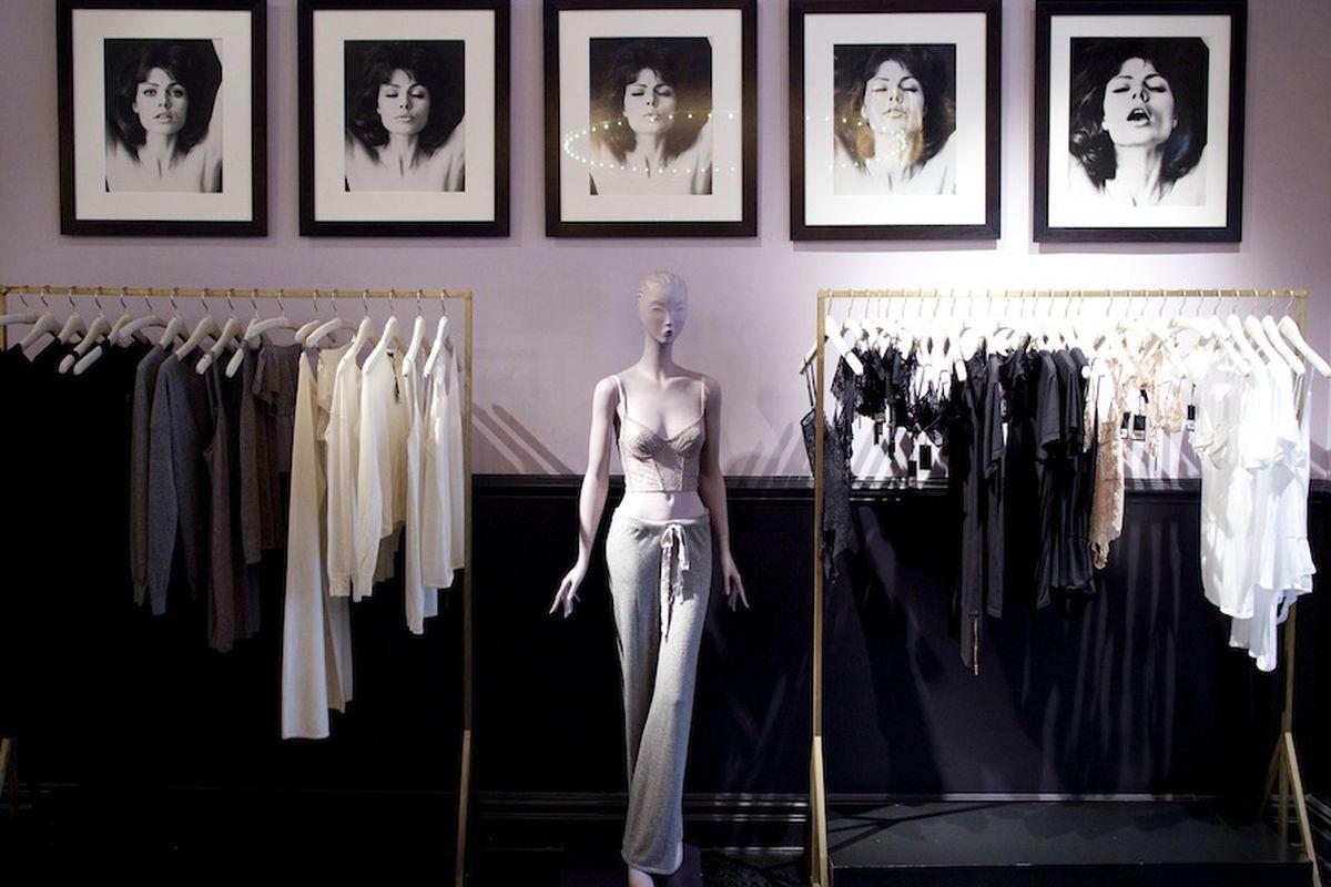 Inside the Greene Street store