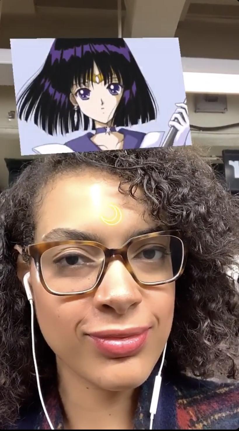 Allegra IS Sailor Saturn