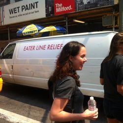 Line relief van.