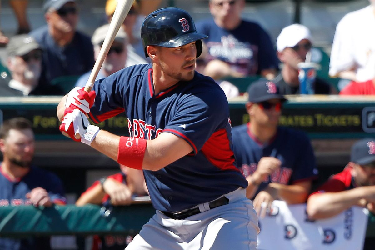 The A's and Dodgers are mentioned in the headline. Why is there a Red Sox player pictured? Read below!
