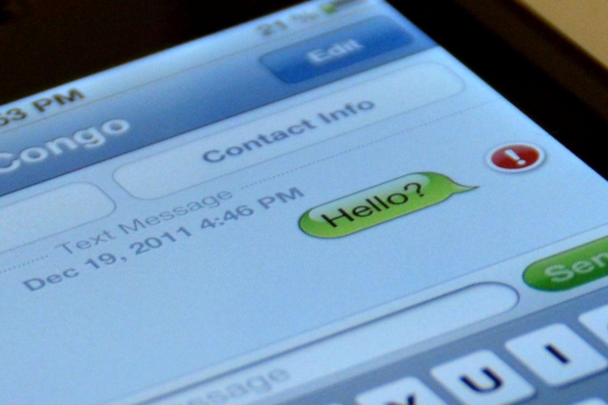 Congo ban on texting, social media