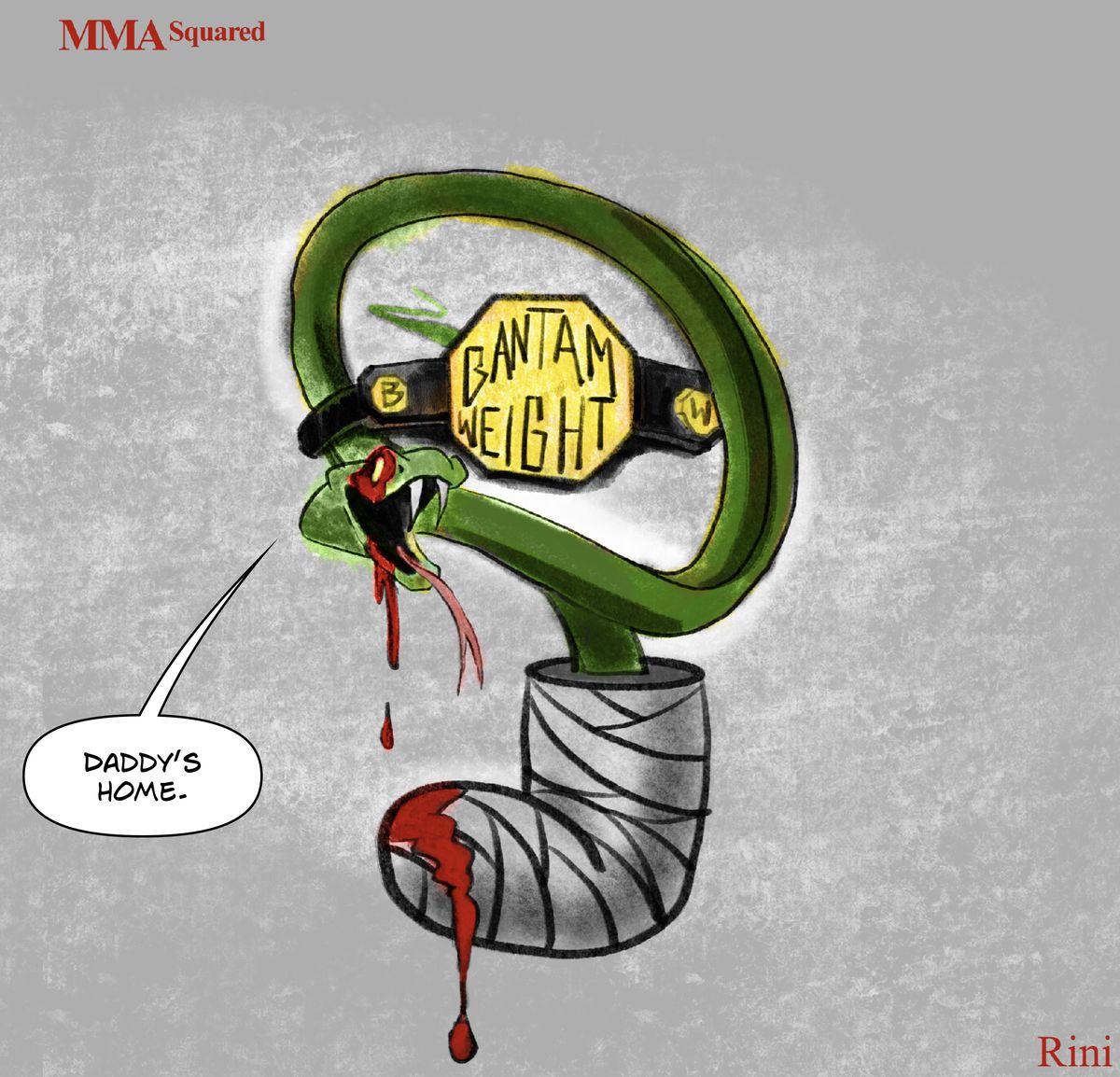 MMA Squared, Chris Rini, TJ Dillashaw, Cory Sandhagen, Las Vegas, Fight Night, Bantamweight, Petr Yan, Aljamain Sterling, UFC, MMA