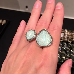 Double sided ring, $95