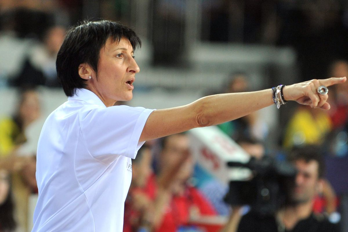 French National Team coach Valerie Garnier is also one of three female coaches in France's pro league.