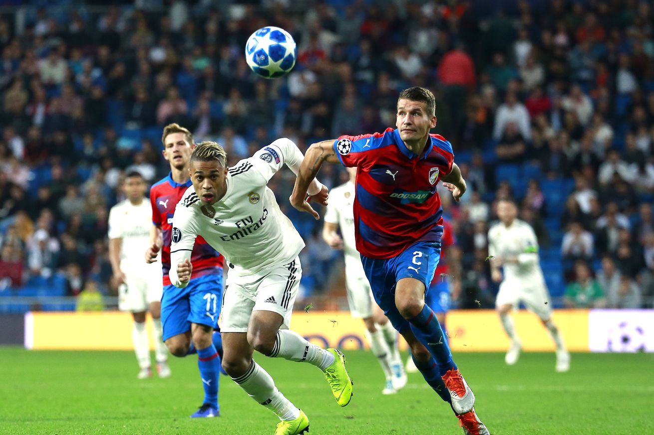 Champions League Daily Thread: Plze? vs Real Madrid