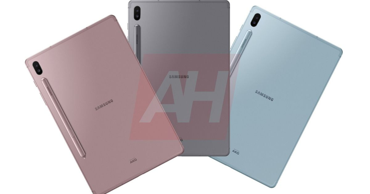 Samsung Galaxy Tab S6 leak all but confirms the stylus will stick out