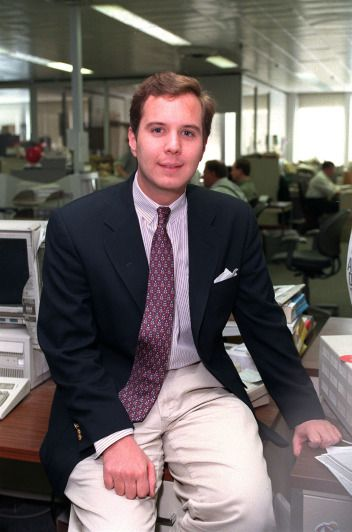 """John McGovern, shown in 1999 when he was highlighted in a Chicago Sun-Times """"30 under 30"""" profile. 