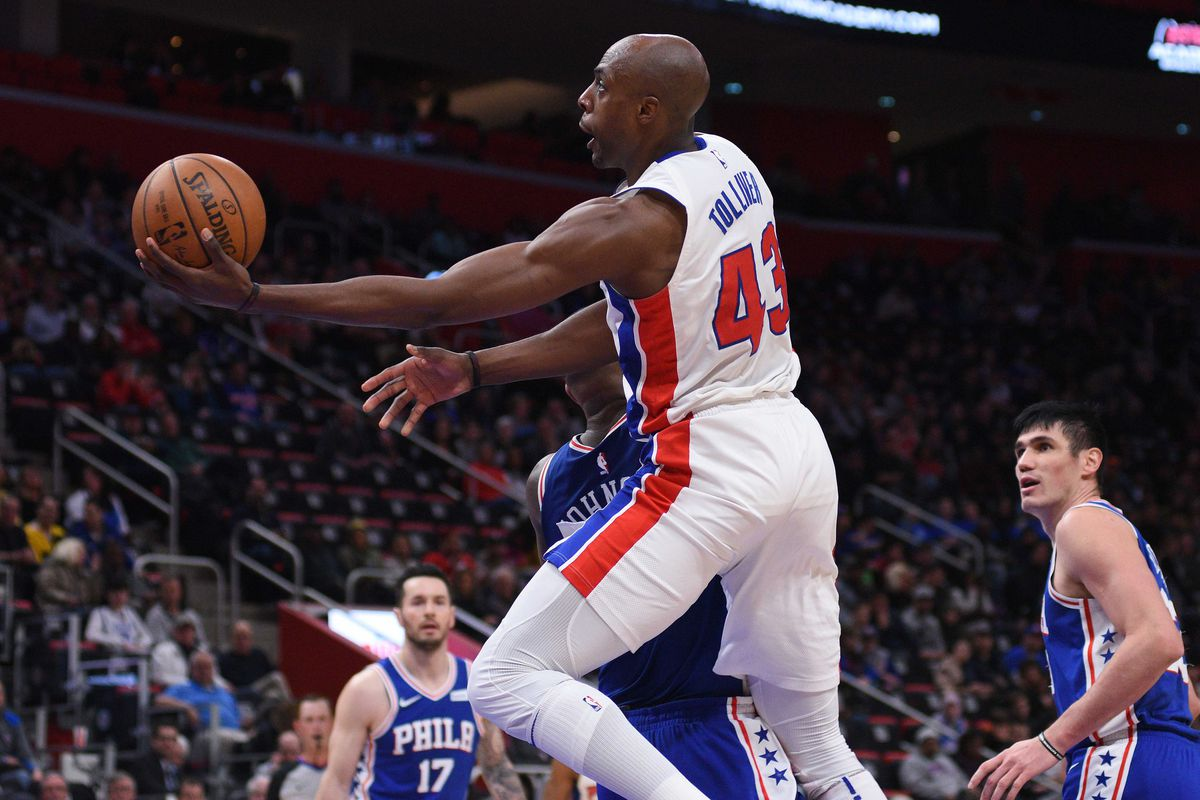 new style 9f350 4783e 2017-18 Pistons review: Everyone loves Anthony Tolliver ...