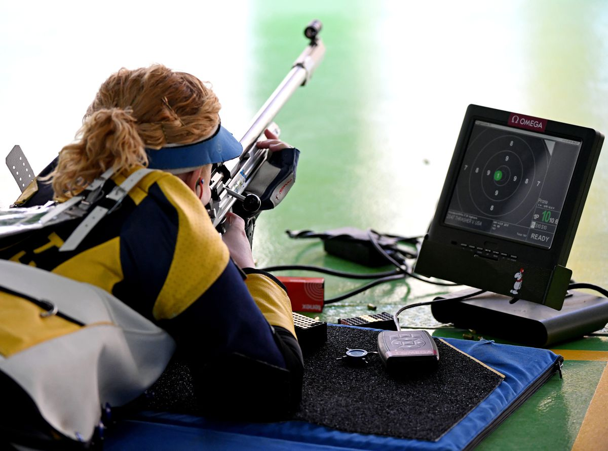 Olympics: Shooting