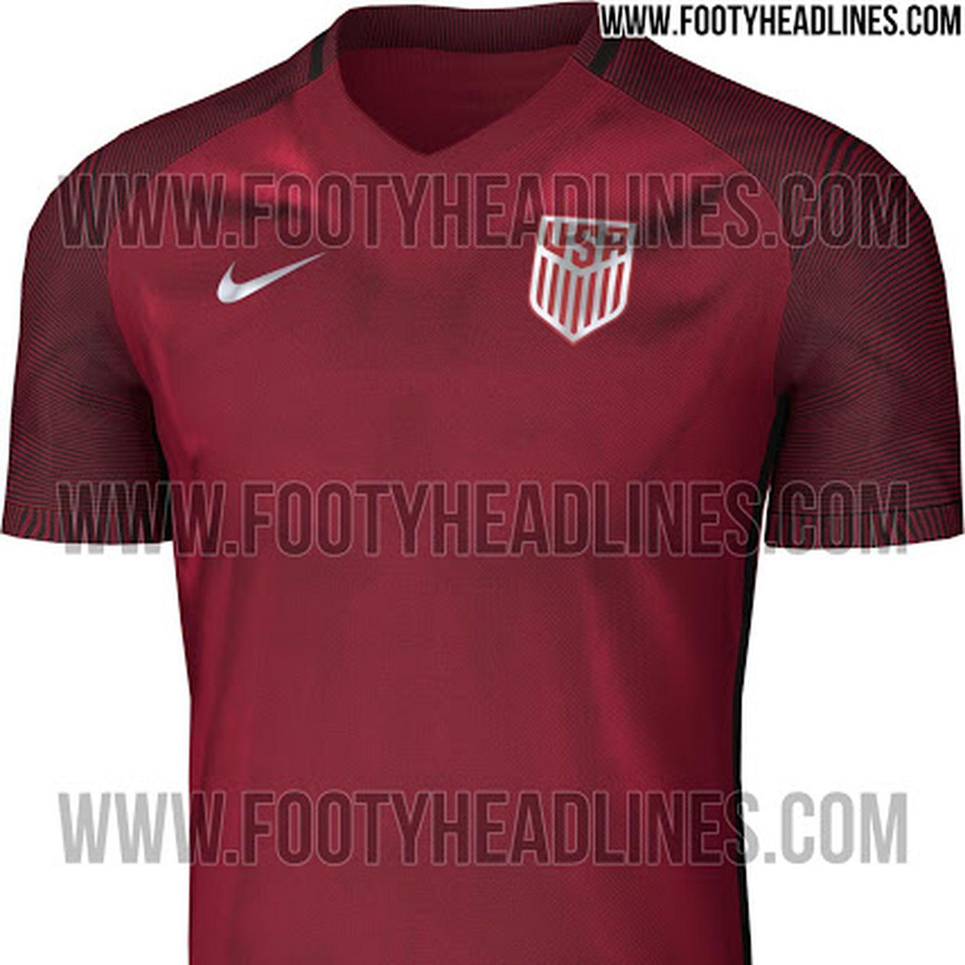 U S Soccer 2017 Third Kit Leaks Stars And Stripes Fc