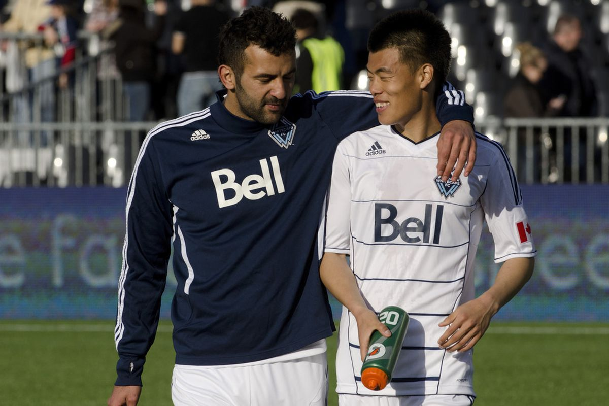 Two experts in being upset at the Vancouver Whitecaps.