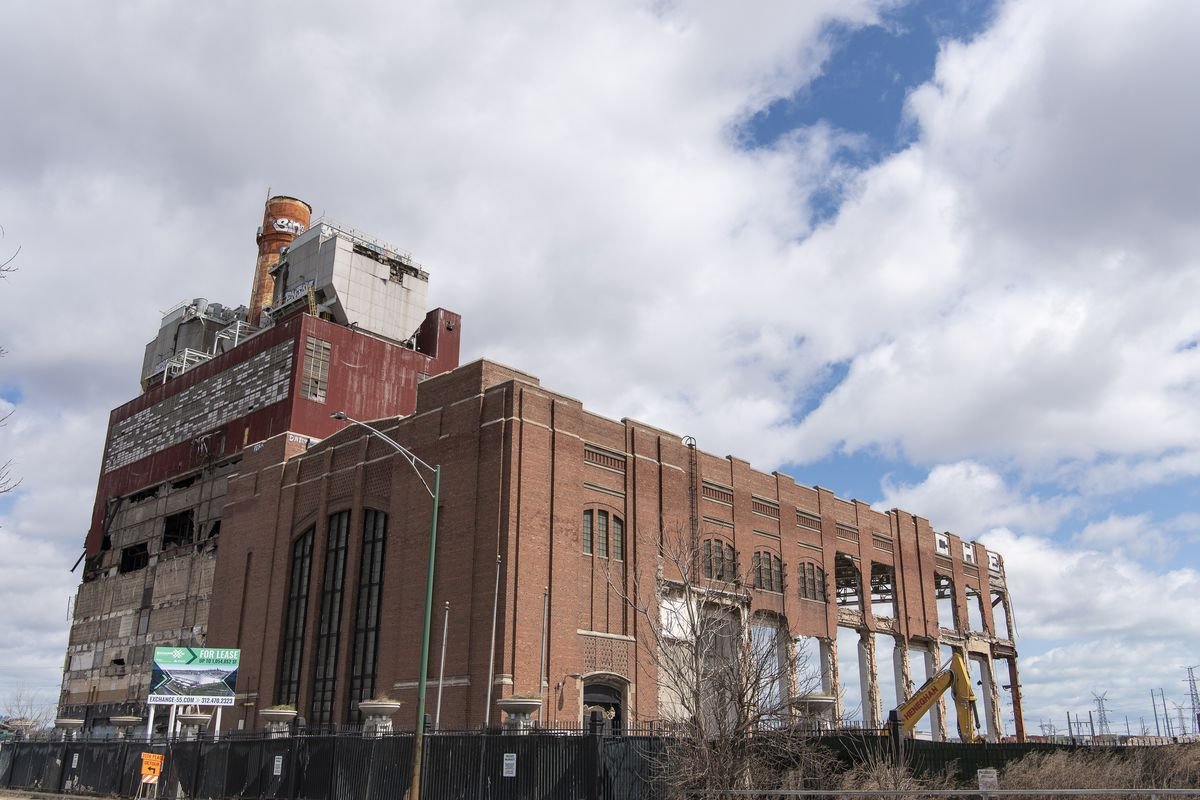 The old Crawford power plant, 3501 S. Pulaski Rd.