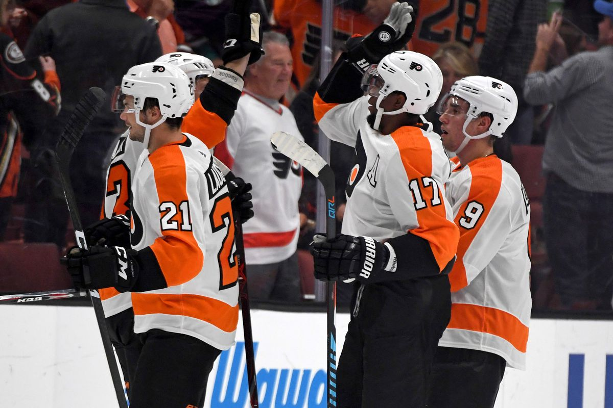 97a4ceae62f Flyers vs Ducks recap: 5 takeaways from the team's second win ...