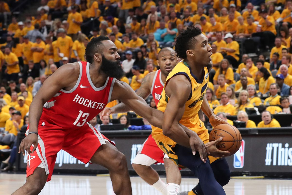 NBA: Playoffs-Houston Rockets at Utah Jazz