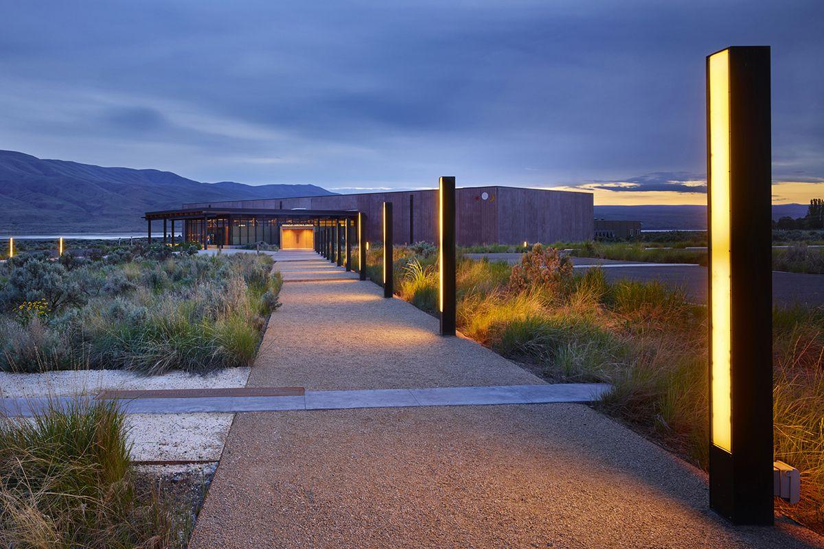 Wanapum Heritage Center. Priest Rapids, Washington.