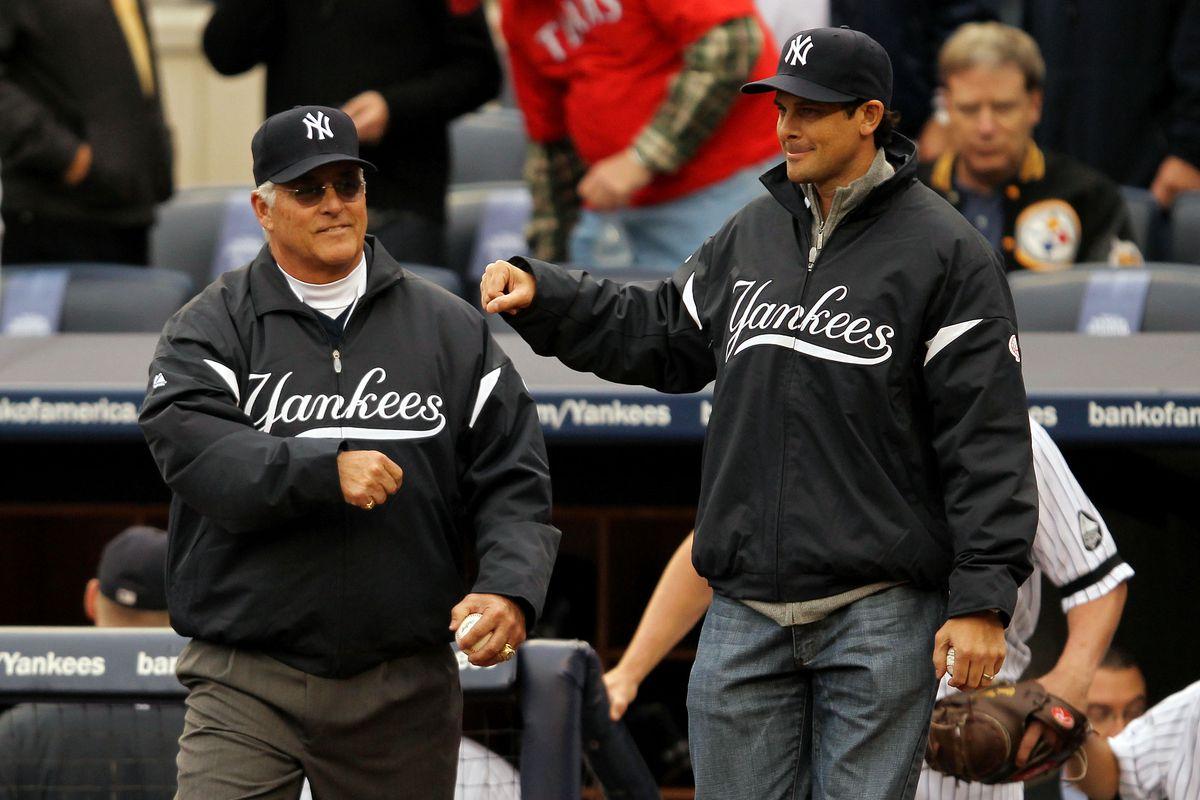 Texas Rangers v New York Yankees, Game 5