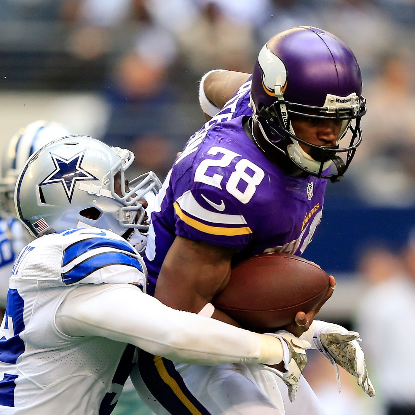 9a404f669 Cowboys Free Agent Rumors Include Adrian Peterson & DeMarcus Ware, Also  Tony Romo Won't Retire