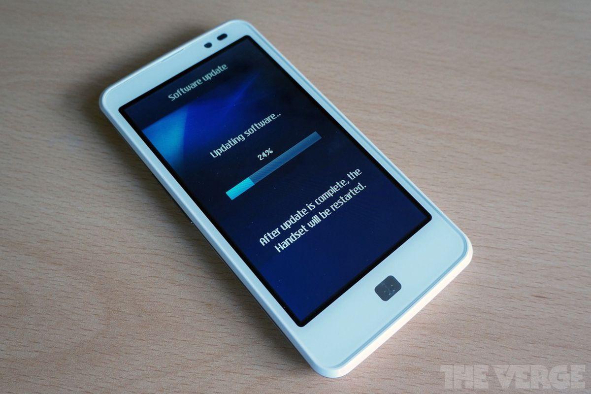 LG Optimus LTE update_stock