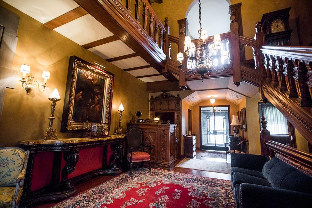 Fisher mansion interior shots