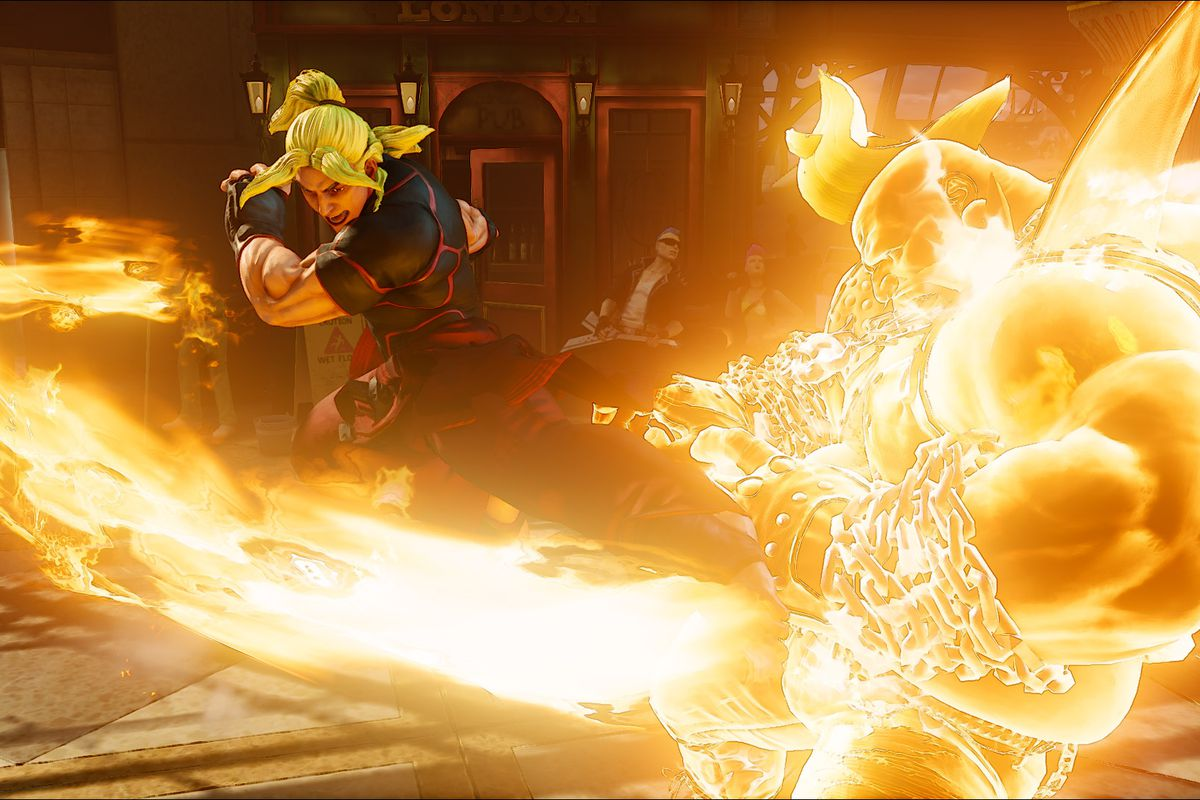 Hands On With Street Fighter 5 S More Aggressive Ken Polygon