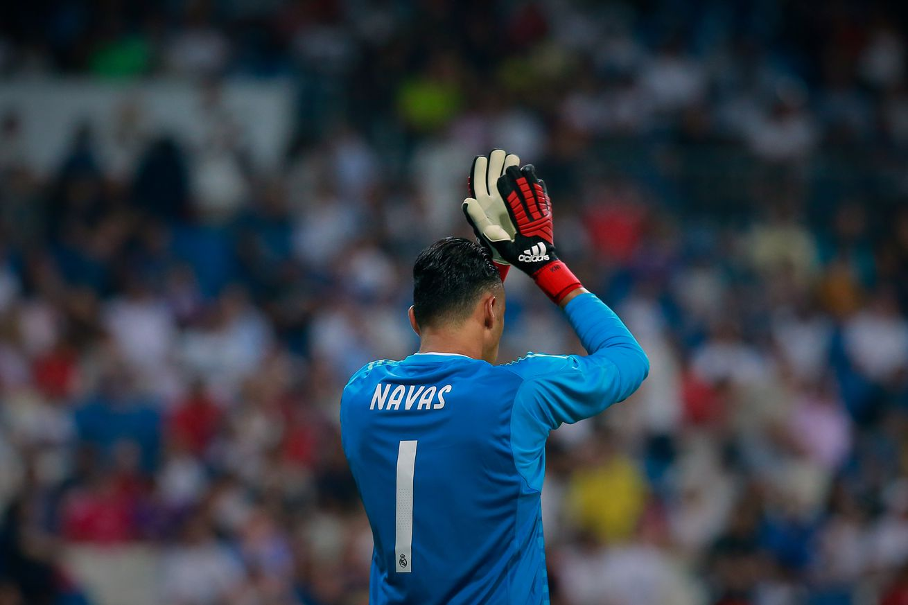 Real Madrid tell Keylor Navas he is not in their plans