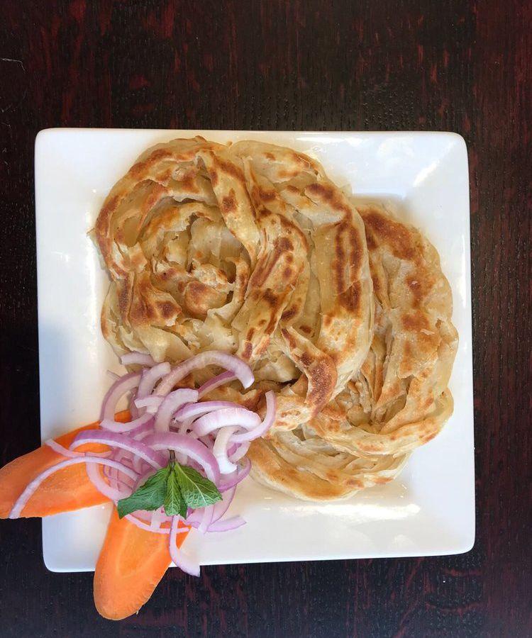 A dish from Sangam Chettinad