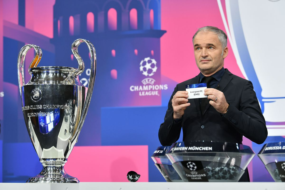 UEFA Champions League 2020/21 Round of 16 Draw