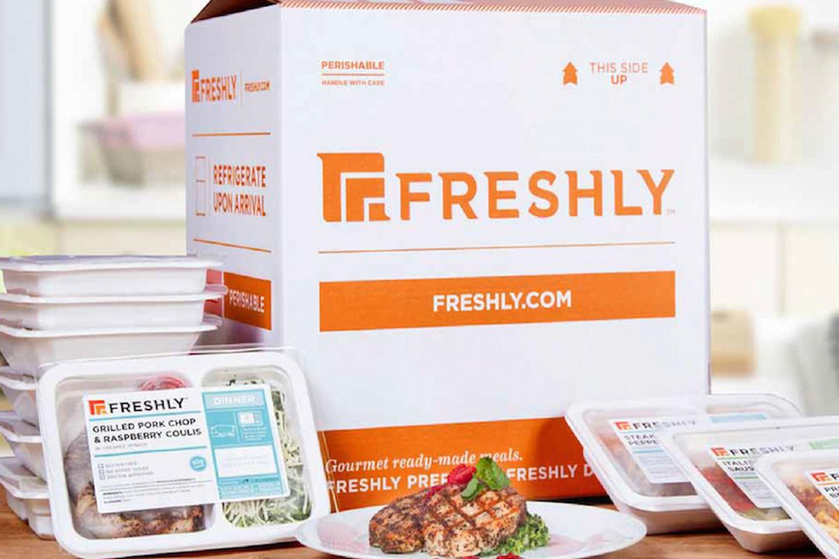 Freshly S All Natural Ready Made Meal Delivery Service