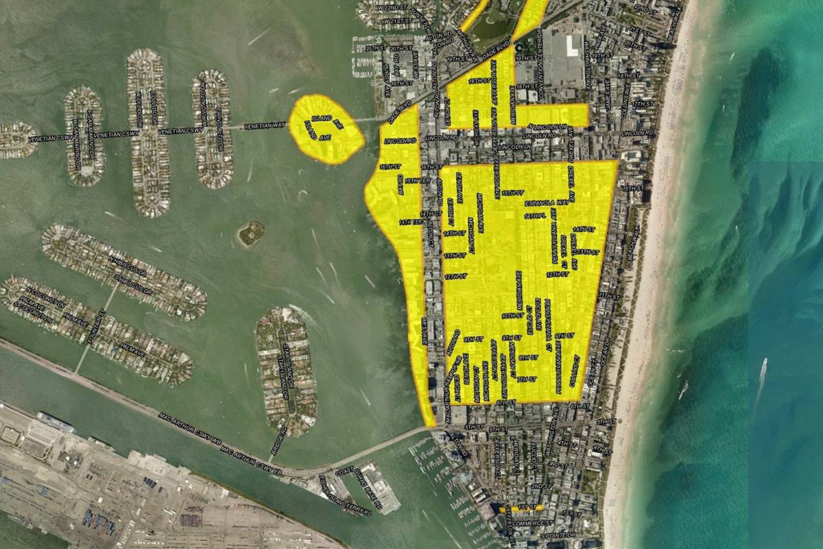 Miami Beach map shows full scope of roads that will be
