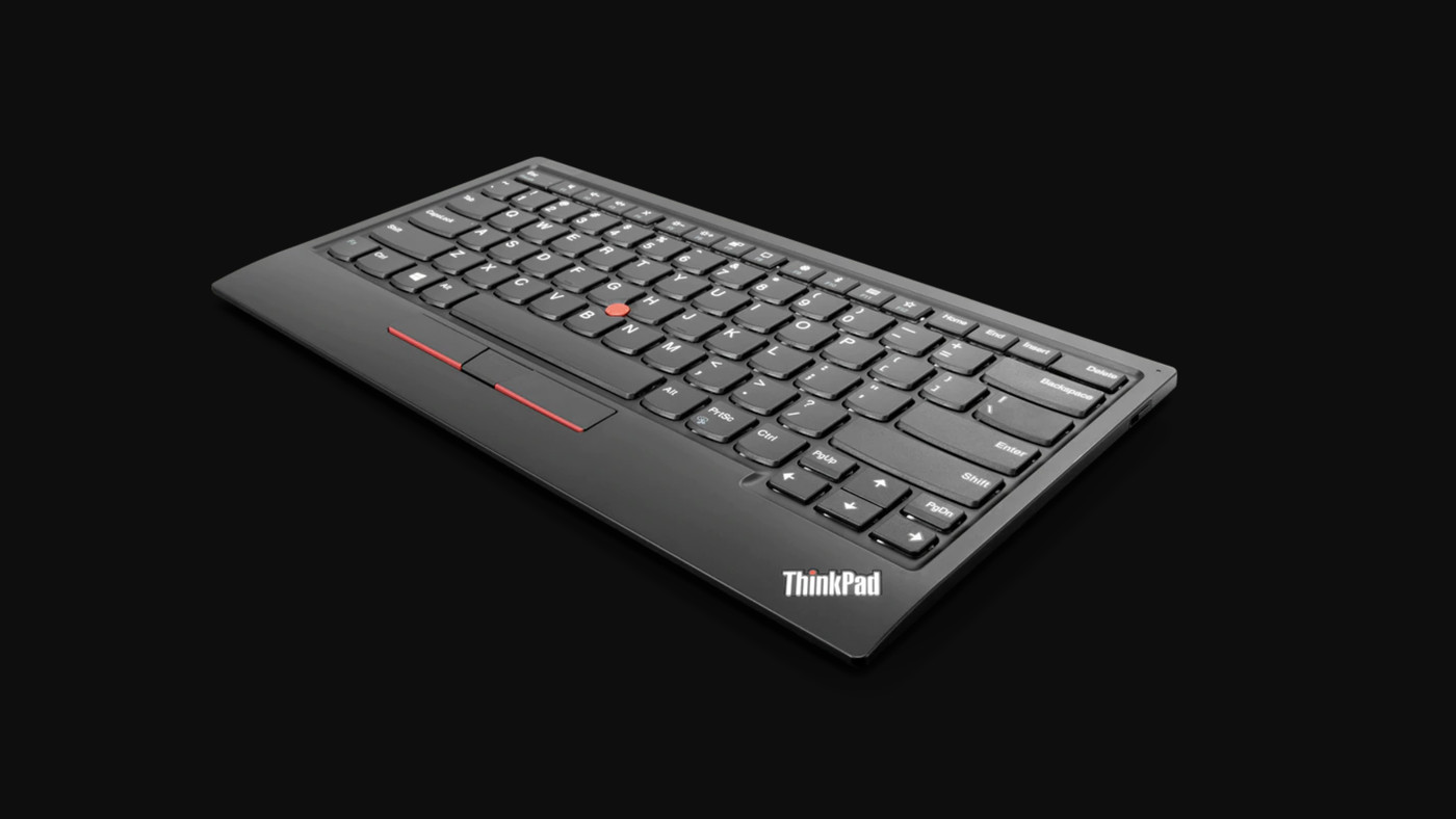 Lenovo S New Thinkpad Keyboard Is The Best Way To Get The Infamous Nub On Your Desktop The Verge