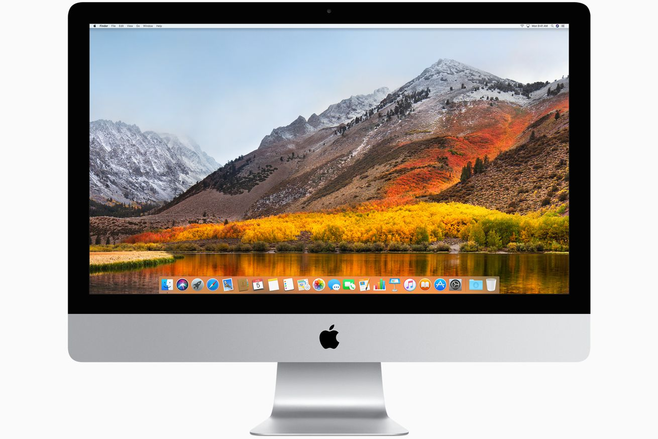 Apple will release macOS High Sierra on September 25th