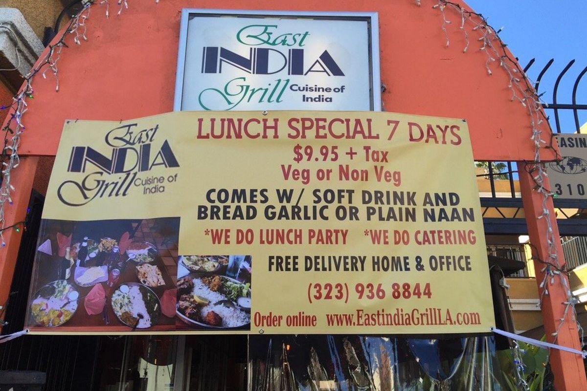 East India Grill, La Brea