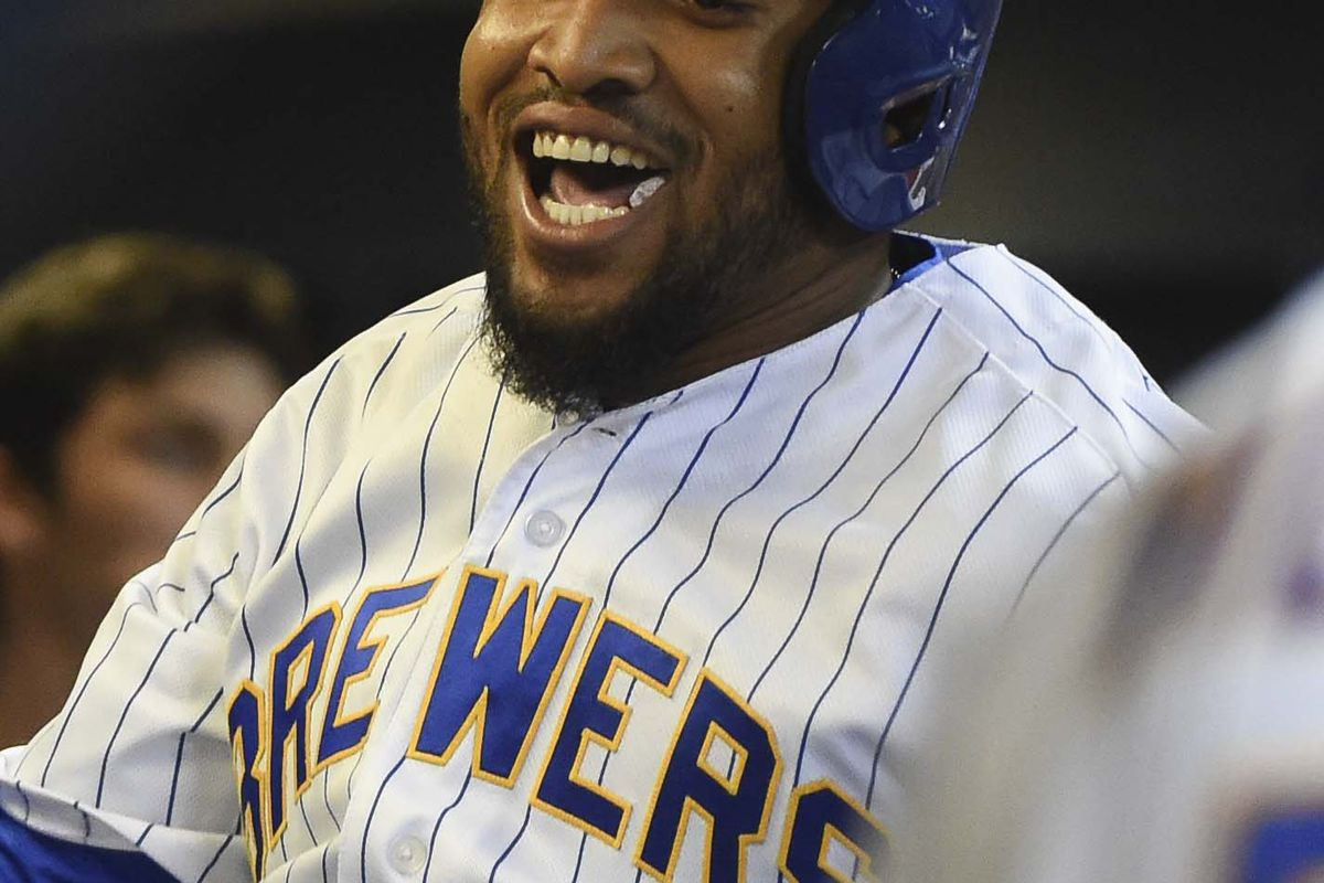 Oh what a relief it is! Homer #1 for Santana - finally