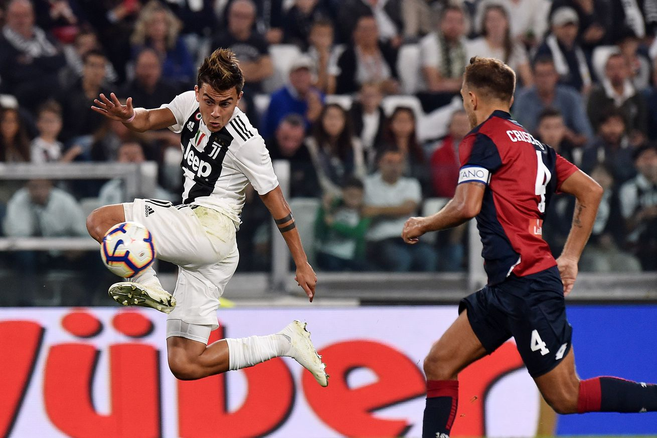 Round 28: Juventus vs. Genoa match preview