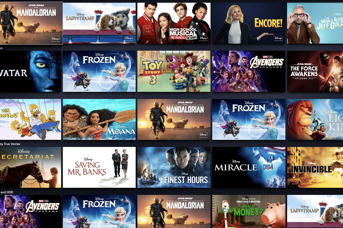 Disney Plus: how to find your favorite movies and shows - Polygon
