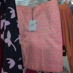 Neon bermuda shorts, $85
