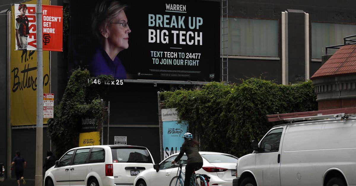A Joe Biden fundraiser offers a new clue into how he might regulate Big Tech