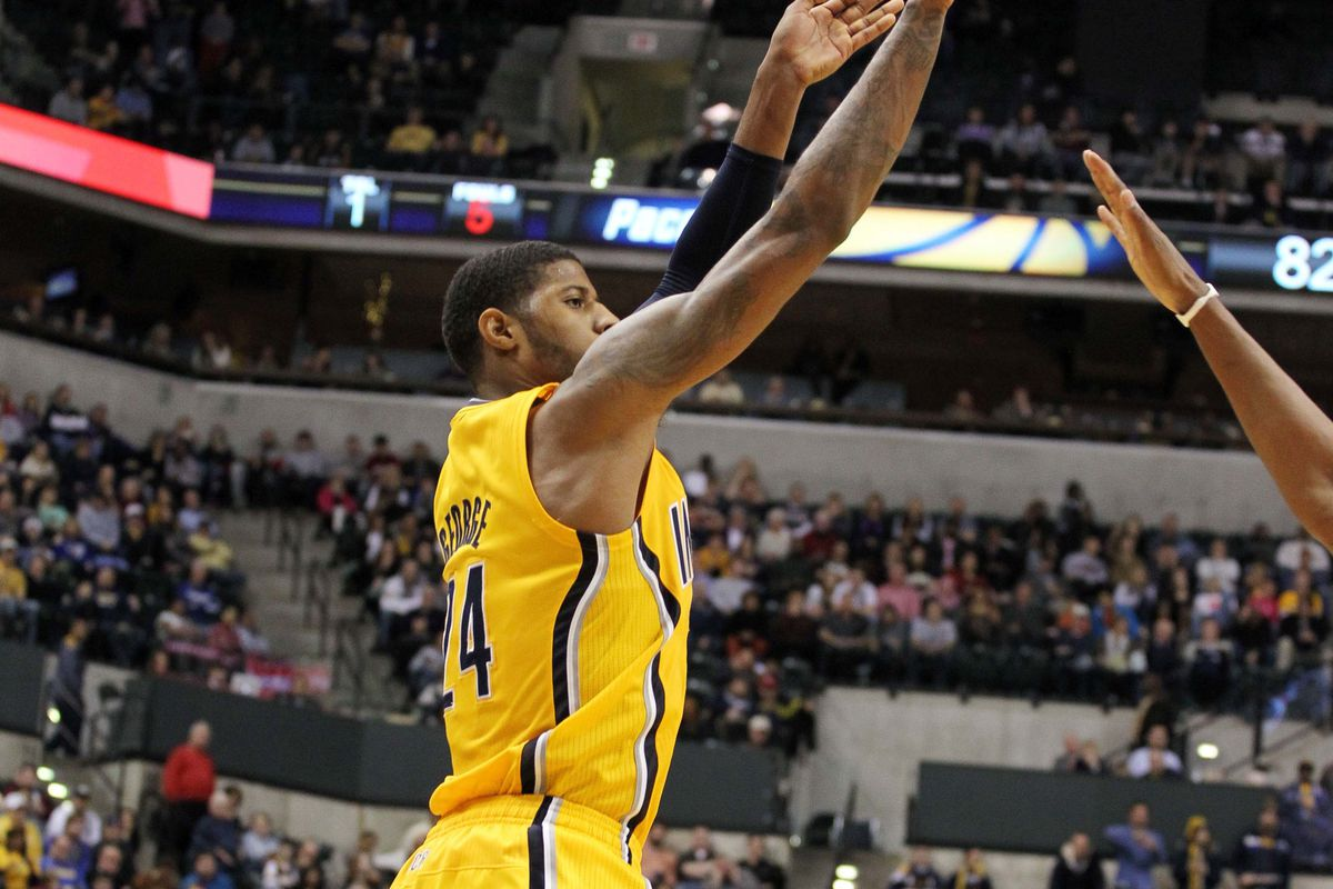 Paul George had 21 points in a 88-83 win on the final day of 2012.