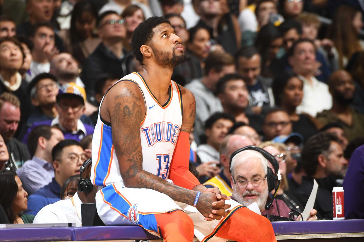 b15741850fe Paul George says picking Thunder in free agency had nothing to do with LeBron  James or Lakers