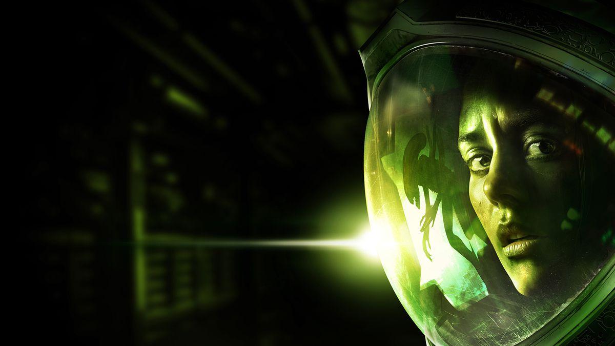 Alien: Isolation - Amanda Ripley helmet close-up