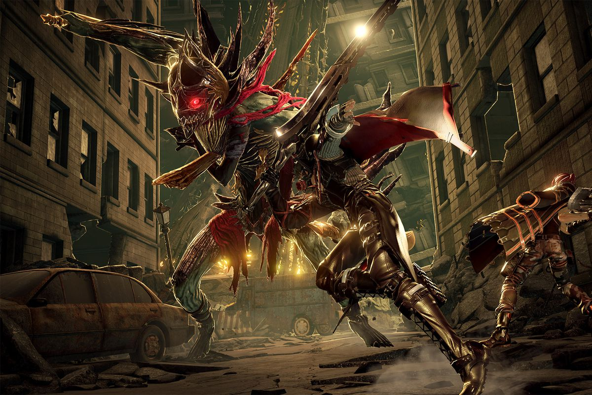 Here's a look at Code Vein, Bandai Namco's new anime vampire